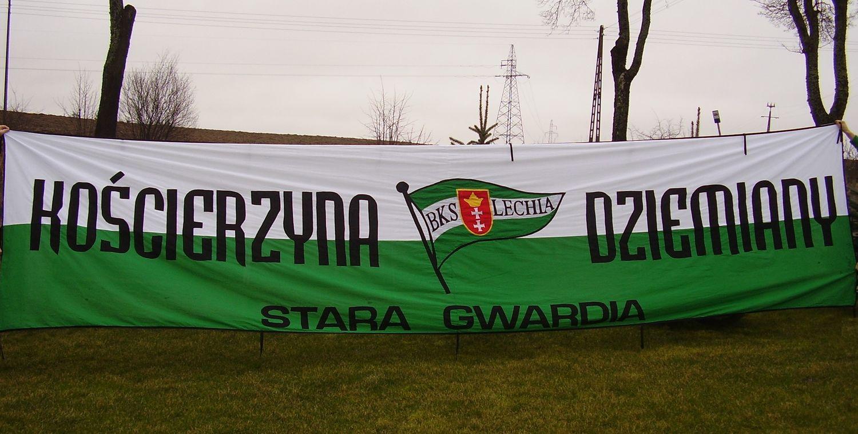 Flaga Kościerzyna Dziemiany