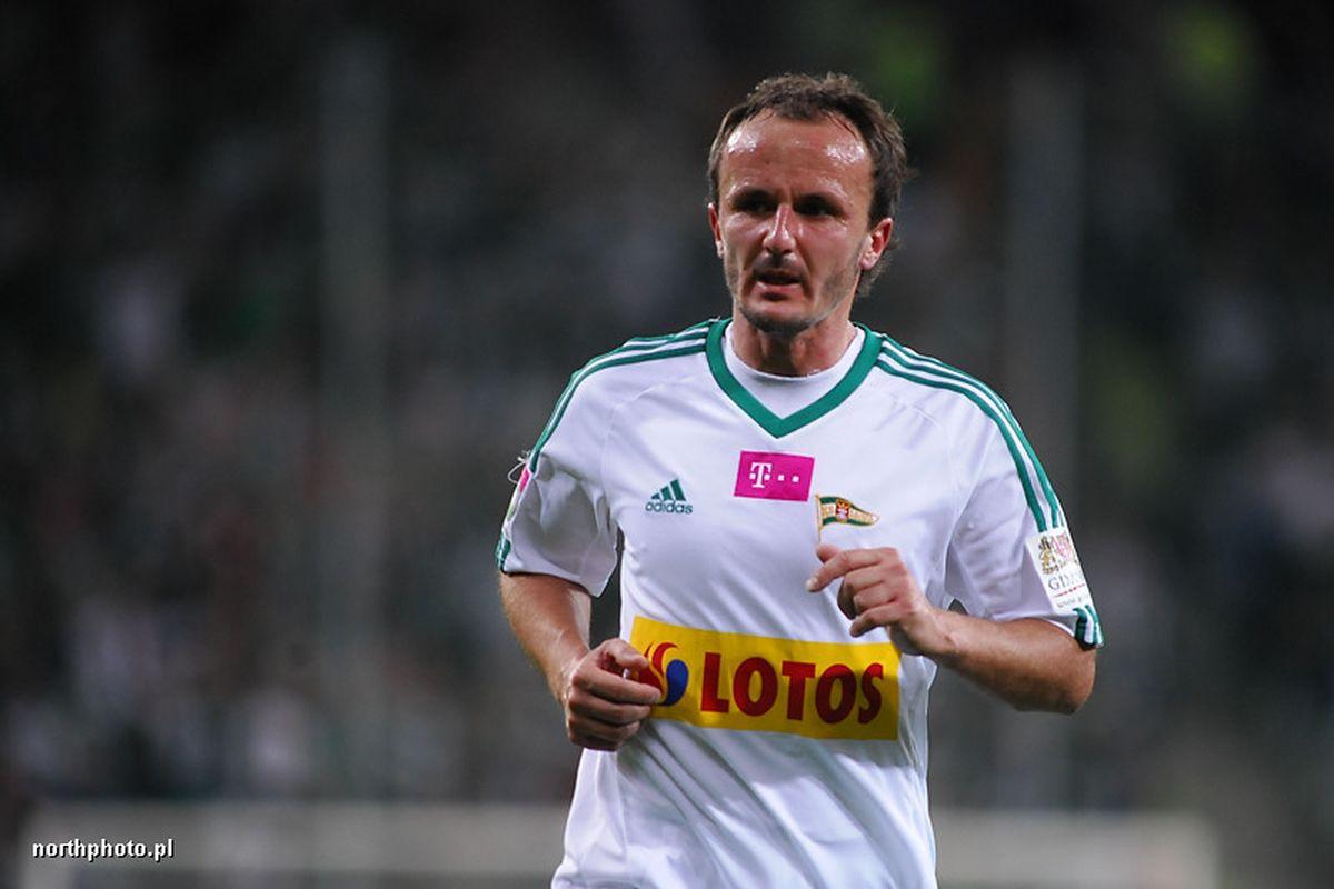 Paweł Nowak mecz Lechia - Bełchatów