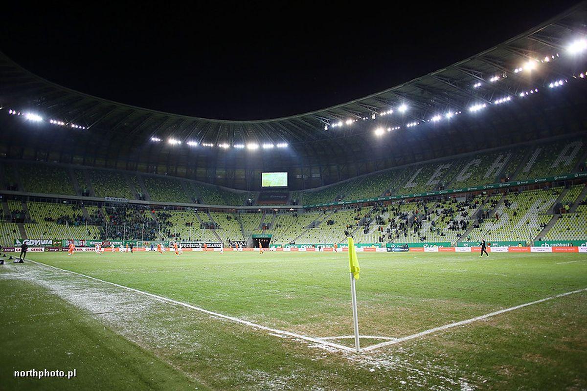 Energa Stadion Gdansk kibice trybuna
