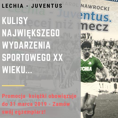 Lechia - Juventus książka baner