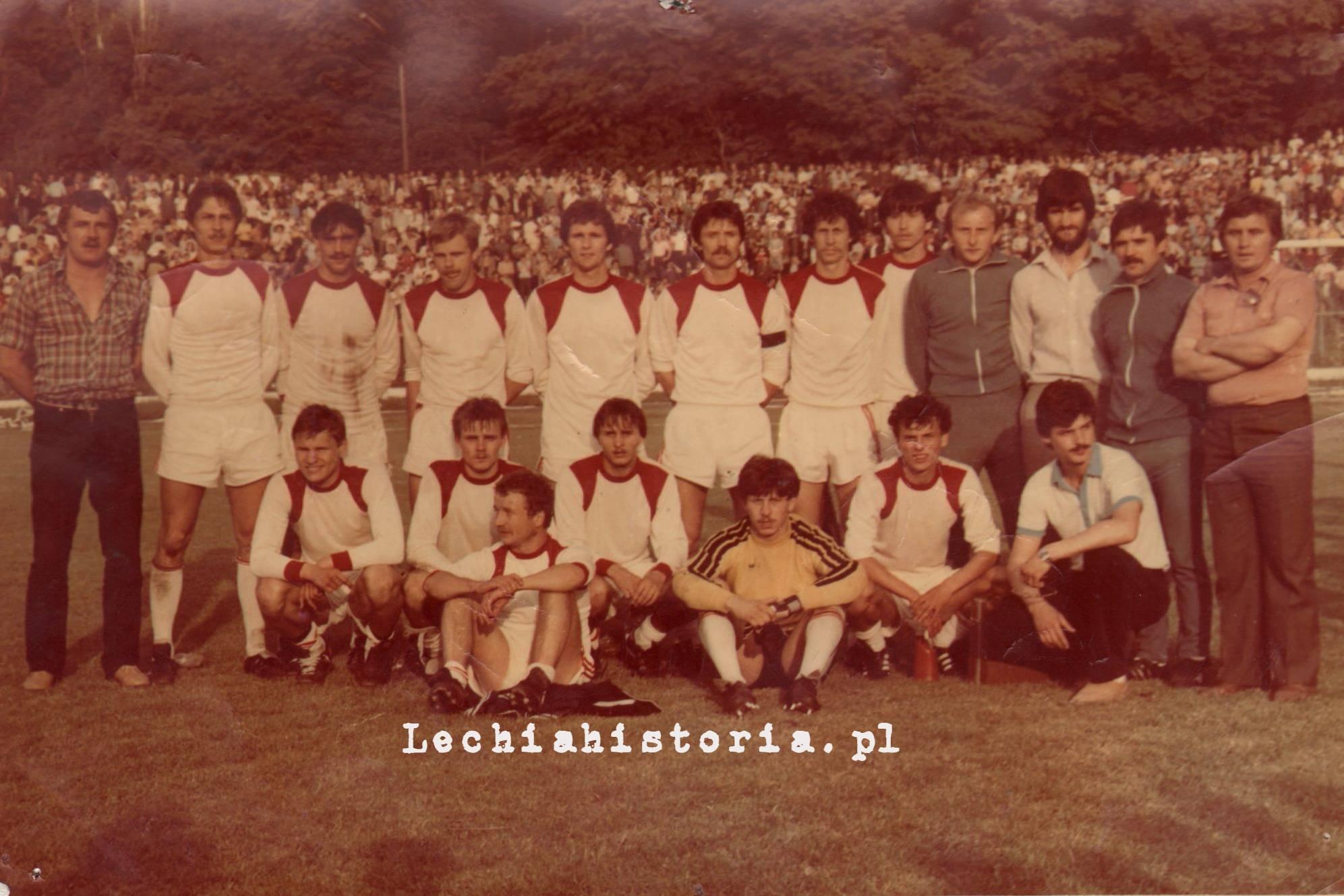Lechia - Ruch, półfinał Pucharu Polski 1983