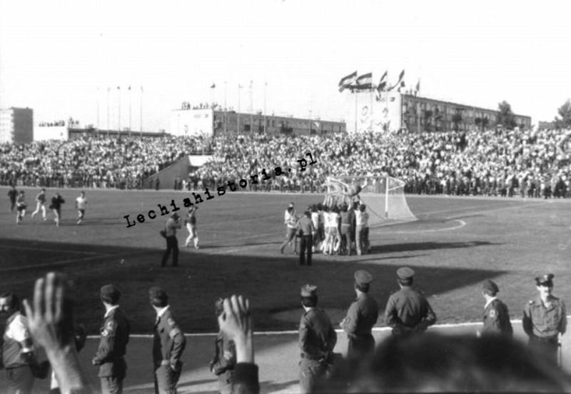 Finał Pucharu Polski 1983 r. Lechia Gdańsk - Piast Gliwice
