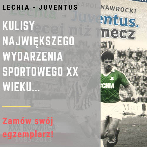 Lechia - Juventus. Książka baner