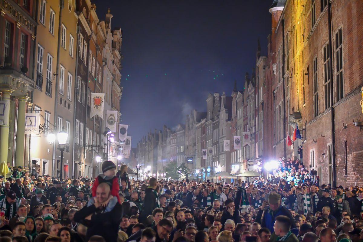 Feta kibiców Lechii Gdańsk