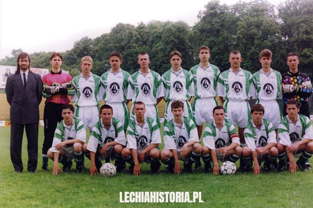 Lechia mistrzem Polski juniorów młodszych 1995 r.