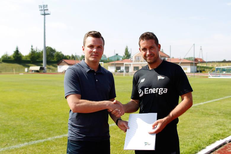 Janusz Melaniuk i Adam Owen