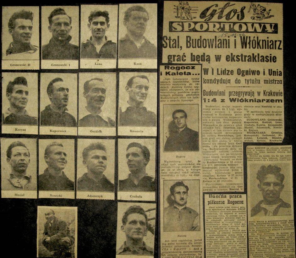 Głos Sportowy 1954 - Lechia Gdańsk