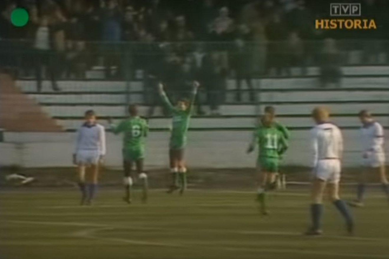 Lechia - Górnik Zabrze, sezon 1984/85