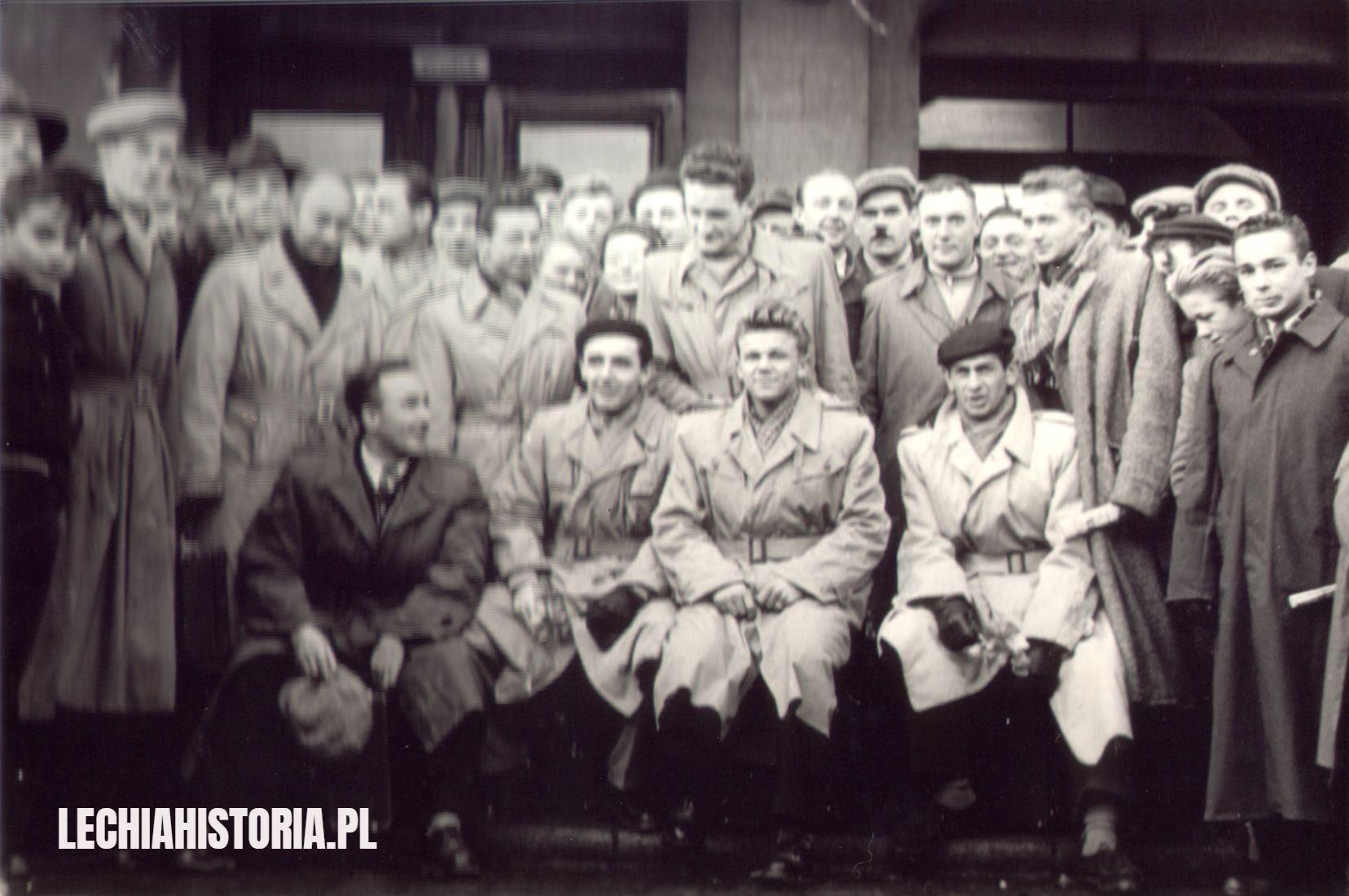 Górnik Zabrze - Lechia Gdańsk, 1954