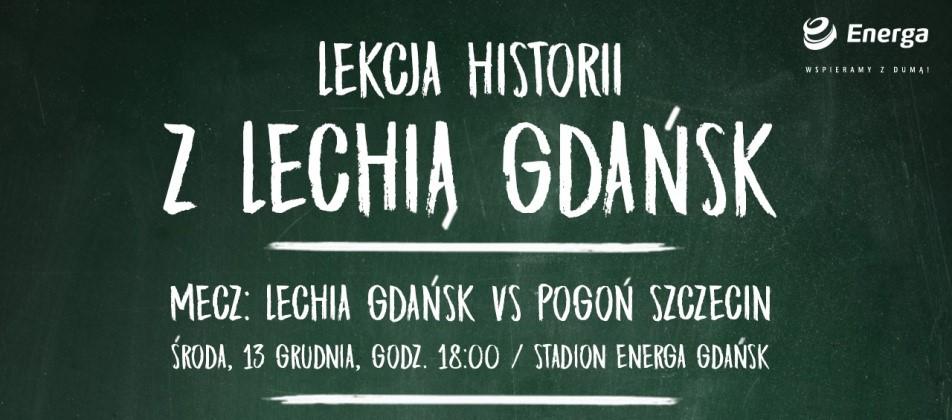 Lekcja historii z Lechią Gdańsk